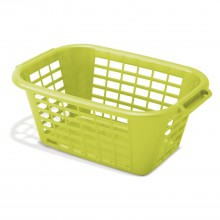 Addis Rectangular Laundry Basket, Lime