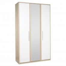 Casa Zara Tall 3 Door Bi-Fold Wardobe