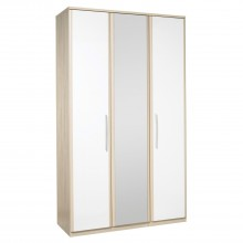 Casa Zara Tall 3 Door Hinged Wardrobe