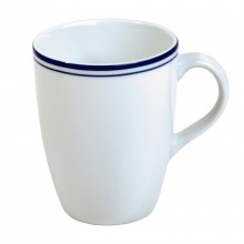Coastal Mug, White And Navy