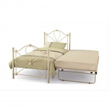 Casa Lyon Single Guest Bed Ivory Gloss