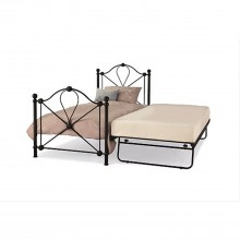 Casa Lyon Single Guest Bed Black