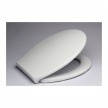 Slow Close Toilet Seat, White