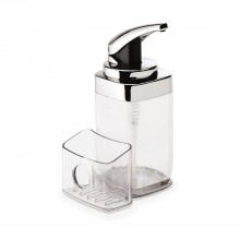 Simplehuman Chrome Pump with Caddy