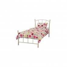 Casa Penny Single Bed Frame, White