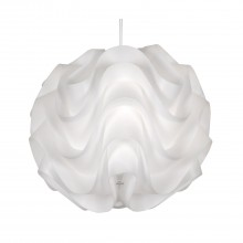 Small Akari Ceiling Shade, White