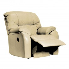 G Plan Mistral Manual Recliner Leather Armchair