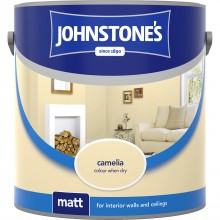 Johnstones 2.5l Matt Emulsion, Camellia