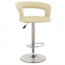 Casa Titan Bar Stool, Cream