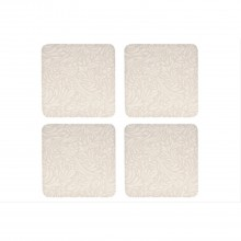 Denby Monsoon Lucille Gold Coasters x 4