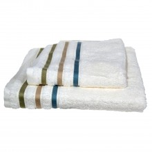 Sienna Cream Bath Towel