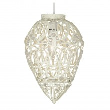 Rio Bead Ceiling Shade, Cream