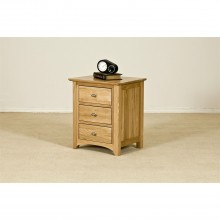 Casa Toulouse 3 Drawer Bedside Cabinet