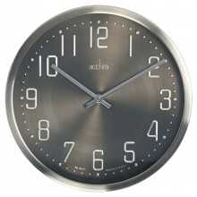 Acctim Alvik Br/Metal Wall Clock