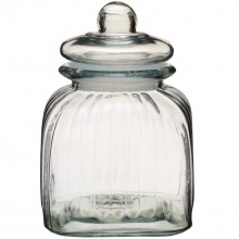 Home made Vintage Style Small Glass Storage Jar