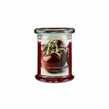 Wax Fill Jar Red Cherries
