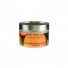 Wax Fill Tin Mediterranean Orange