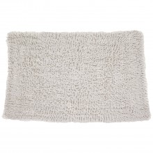 Casa Cotton Loop Bath Mat, White