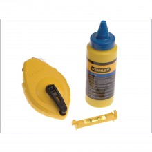 Stanley 30 Metre Chalk Line & Level