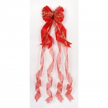 Premier 1.2m Red Tree Top Bow