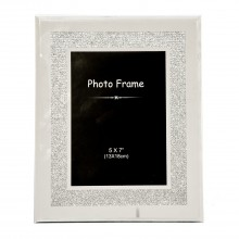 Diamante Border Frame 5x7""