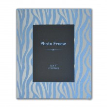 Zebra Print Photo Frame 5x7""