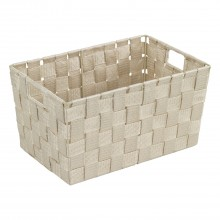 Wenko Adria Bathroom Basket, Beige