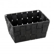 Wenko Adria Bathroom basket, Black