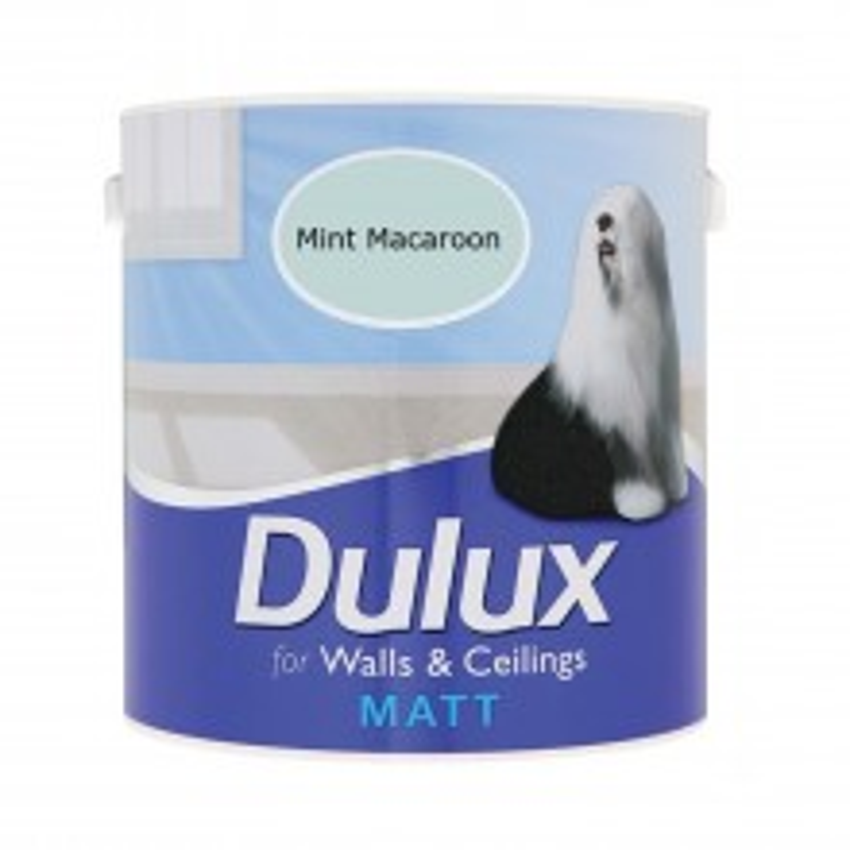 Dulux 2.5l Matt Standard Emulsion Paint, Mint Macaroon