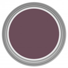 Dulux 2.5l Once Matt Emulsion, Mulberry Burst