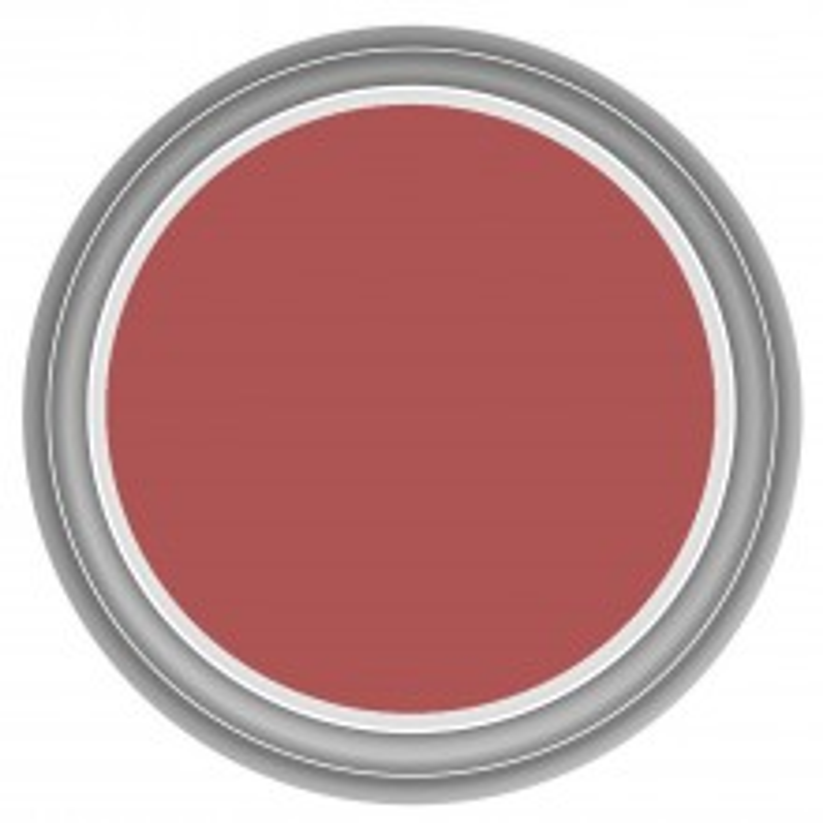 Dulux 2.5l Once Matt Emulsion, Roasted Red