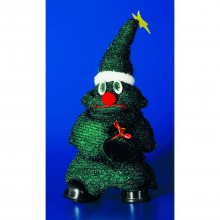 Festive Cute Dancing Tree With Hat