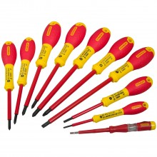 Stanley 10 Piece Screwdriver Set