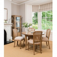 Casa Windrush Circular Dining Table and 4 Chairs