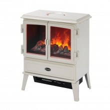Dimplex Auberry Electric Stove, White