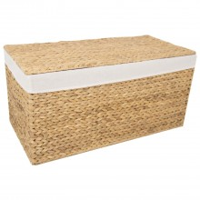Casa Lidded Hamper Large, Natural