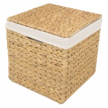Casa Lidded Hamper Small, Natural