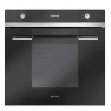 Smeg SF109N Single Multifunction Oven, Black