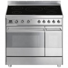 Smeg Sy92ipx8 Cooker 90cm, Stainless Steel