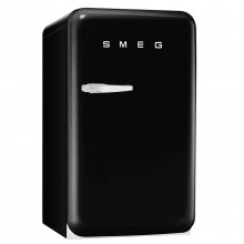 Smeg FAB10HRNE Freestanding Fridge, Black