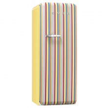 Smeg Fab28qcs1 Freestanding Fridge, Stripe