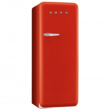 Smeg FAB28QR1 Freestanding Fridge, Red