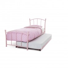 Casa Penny Single Guest Bed, Pink