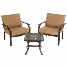 Jamie Oliver Coffee 2 Seater Garden Furniture Set Traditional Style