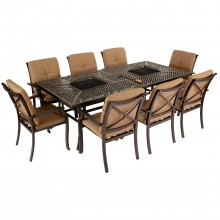 Jamie Oliver Feastable 8 Seater Garden Furniture Set Traditional Style