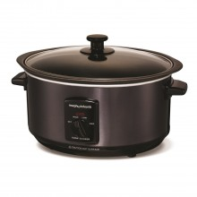 Morphy Richards Sear And Stew Slow Cooker Black