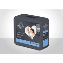 Fine Bedding Company Breathe Duvet Four Season, Single, White