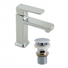 Casa Palma Mini Mono Basin Mixer, Chrome