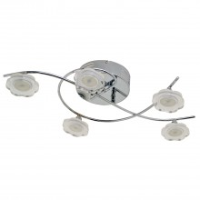 Casa Barton Led Flower, Chrome