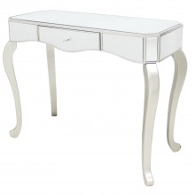 Casa Mirrored Console Table, Champagne